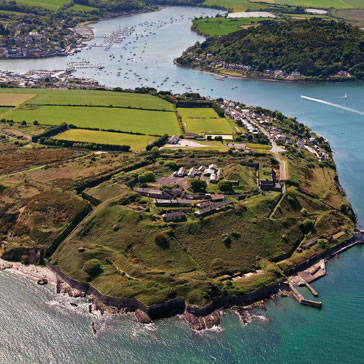 Camden Fort Meagher Aerial